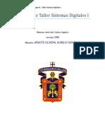 Prácticas de Taller Sistemas Digitales I-Jose Luis Quiroz Aguirre