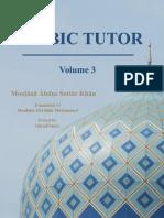 Nahw Grammar Arabic Tutor Volume 3