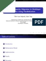 Multilayer Paralelizacion
