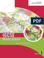 Cambridge IGCSE Study Guide for Physics