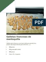 Galletas Francesas de Mantequilla