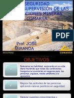 Curso Seguridad Operaciones Mineras Fallas Sistemas Elemento Humano Iper Peligros Riesgos Condiciones Operacion