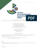PROJETO _ NUCC _ Núcleo de Comunicação Comunitária