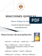 Quimica General - Reacciones - Balanceo Simple -