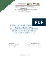 Trabajo de Reactores Semi-continuos