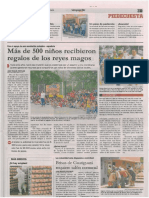 Vanguardia Liberal 18 de enero de 2017. Cabalgata Solidaria de ACYCOL
