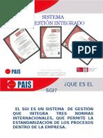 Sistema de Gestion Integrado 2012