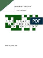 Collaborative Crosswords - Sample