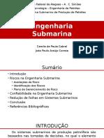 Apresentação - Risco e Confiabilidade na Engenharia Submarina.pptx