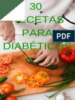 Libro Cocina Para Diabeticos - 30 Recetas Para Diabeticos - Noemi Cervantes