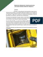 Reporte de Reparacion Del Separador de Aguas Oleosas Del Tk 19
