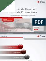 Manual de Uso Portal de Proveedores