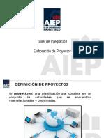 1 - Elaboracion de Proyectos
