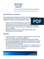 Manual de Operación e Instalación de Polines Para Bandas Transportadoras