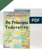 Do Princípio Federativo - Proudhon
