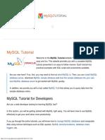 MySQL Tutorial - Learn MySQL Fast, Easy and Fun