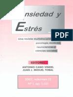 2007_Orejudo, Herrero, Ramos, Fernández y Nuño (2007). ANSIEDAD Y ESTRES