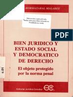 Bien Juridico y Estado Social y Democratico de Derecho.pdf