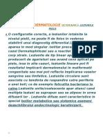 Dermatologie Veterinară