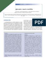 Hipoglucemia y Muerte Encefalica