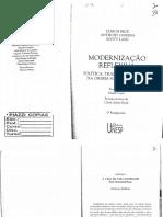 2. Modernização Reflexiva - Giddens