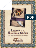 Legend of the Burning Sands - 4th Edition Conversion