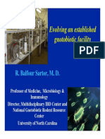 R. Balfour Sartor - Evolving an established gnotobiotic facility