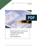 Ejercicios 1bach Economia 16- 17