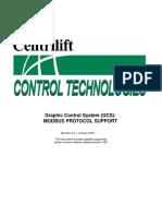 GCS Modbus Protocol Support 4V0