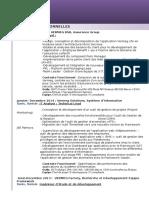 Aladin CV Ingénieur Infromatique