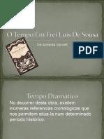 O Tempo Em Frei Luís de Sousa..