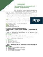 Curso Taller Herramientas Metodologicas 2015