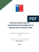 Fármacos Básicos Para El Tratamiento de La HTA en Chile (3)