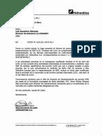 Informe de Avance de Implementacion NIIF Por 1ra Vez