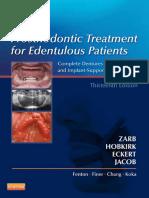 Prosthodontic Treatment for Edentulous Patient, 13ed (2013)
