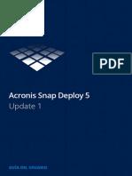 Acronis SNAP DEPLOY 5 - Manual Del Usuario