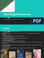 Teaching Resources EDCI Website
