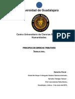 Primcipios de Derecho Tibutario