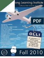 OLLI at California State University Monterey Bay - Fall 2010 catalog
