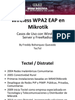 Mikrotik Wireless WPA2 EAP
