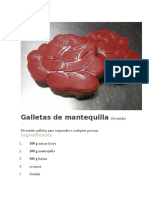 Galletas de Mantequilla Divertidas