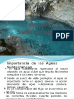 Clase 8 -Aguas Subterráneas