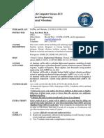 Syllabus Engineering Vibration(EGME431)