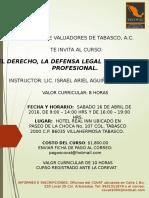 Invitacion Al Curso