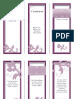 Fancy Brochure Trifold