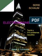 Teoría y Problemas de Electromagnetismo Schaum - Edminister