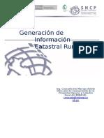 07 Generacion de Informacion Catastral Rural