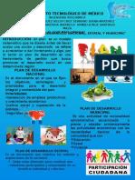 Cartel desarrollo sustentable