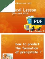 chemical lesson (predict)