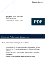 2007 Year End Overview